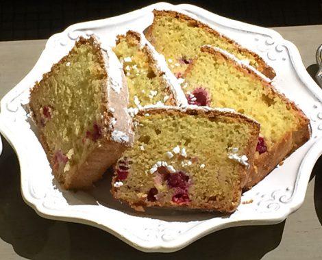 gluten-free cranberry orange loaf